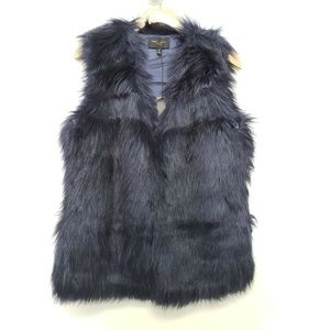 Romeo and Juliet Couture Vest Jacket - Navy Blue